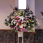 札幌葬儀スタンド花1段