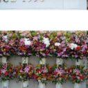 札幌で大量のスタンド花