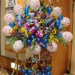 清水ひろき様イベントバルーンスタンド花