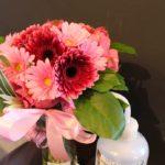 花瓶がセットのブーケ