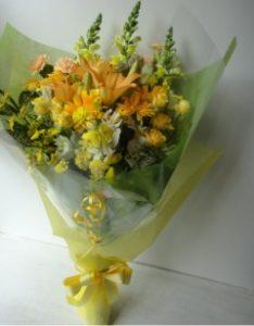 札幌ストレート花束1