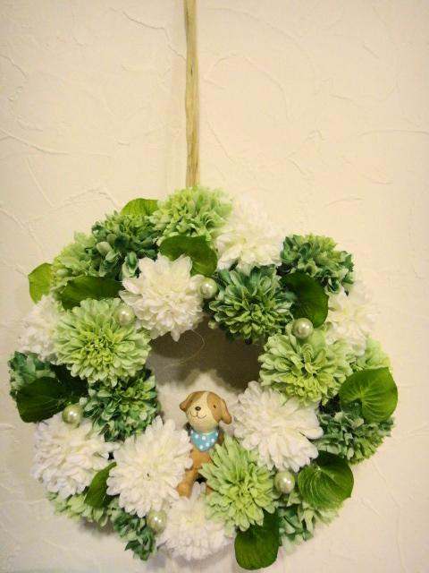 札幌造花リース3