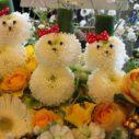 札幌でお花で遊ぶアレンジ