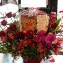 持込商品とお花