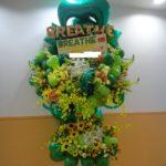 BREATHE様ライブバルーンスタンド花